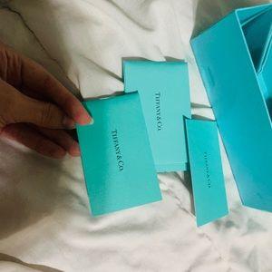 Tiffany &Co. authenticity card + box